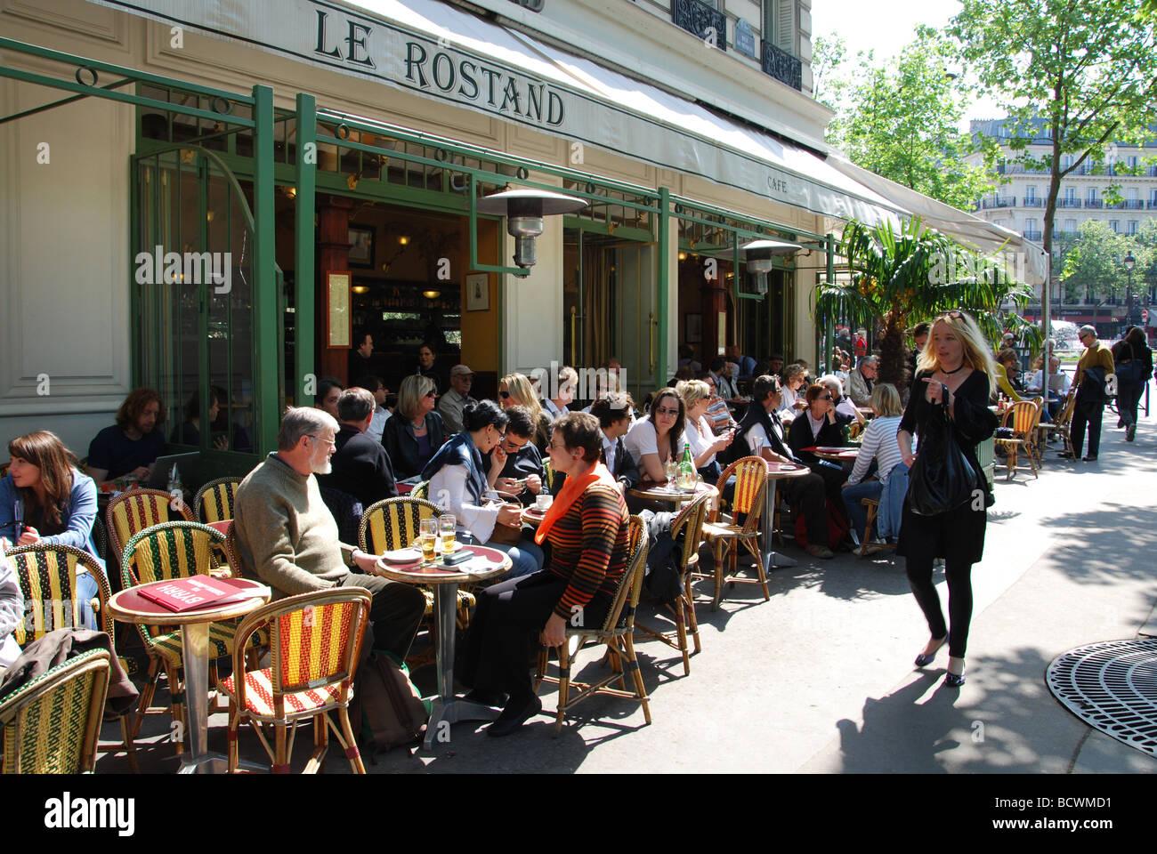 Restaurant le rostand near jardin du luxembourg paris for Restaurant paris jardin