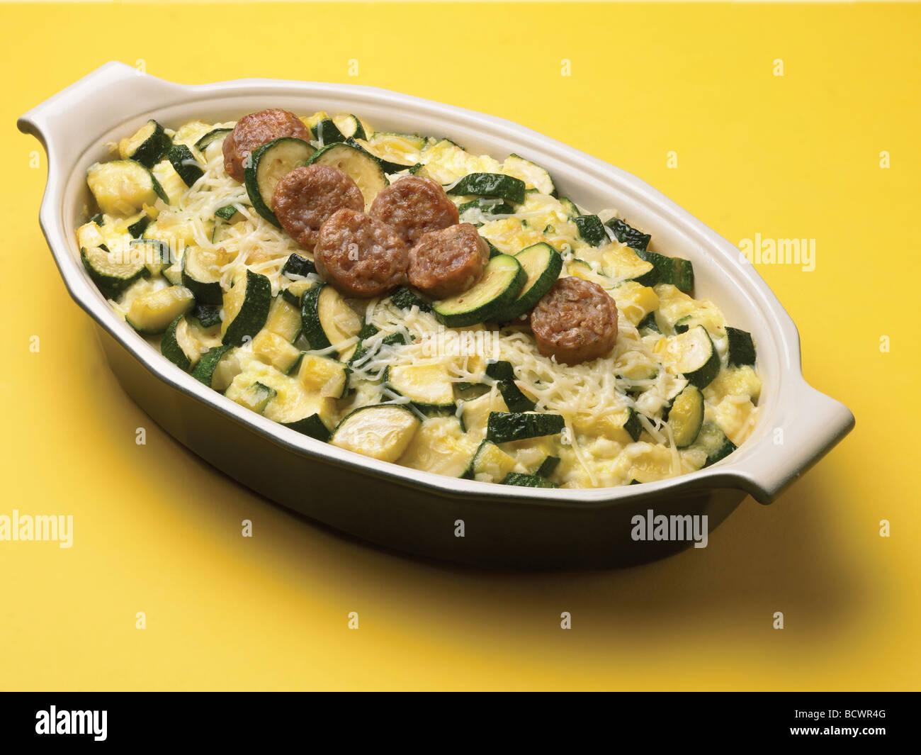 Country Kitchen Recipes Zucchini Sausage Bake Casserole