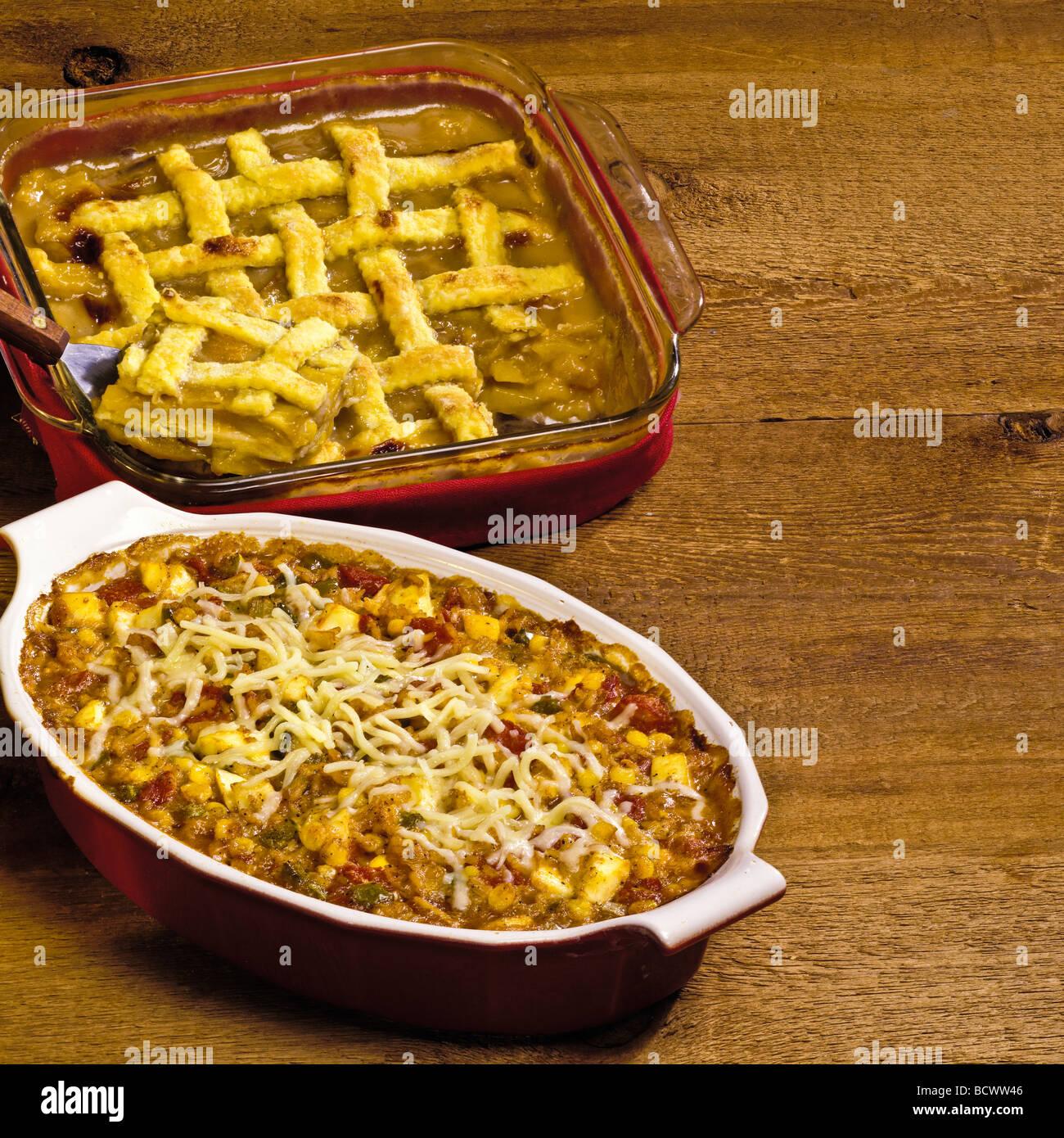 Country Kitchen Recipes Y Corn Casserole Peach Cobbler Supreme Dessert Cheddar Cheese Tomatoes Rice