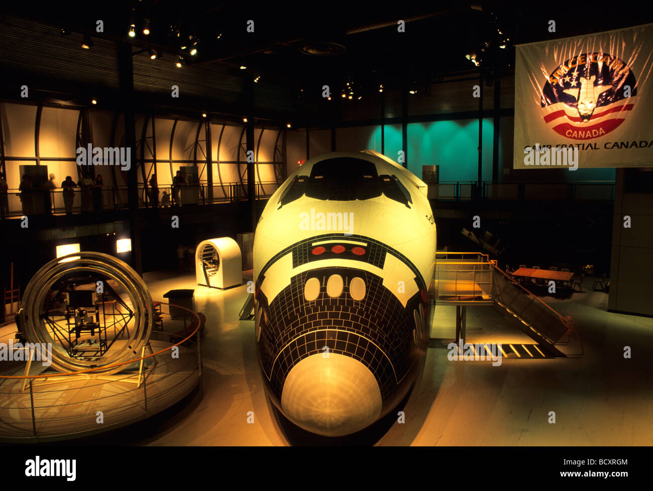 Shuttle Cosmodome Space Science Centre And Space Camp Laval Stock Photo 25175492 Alamy