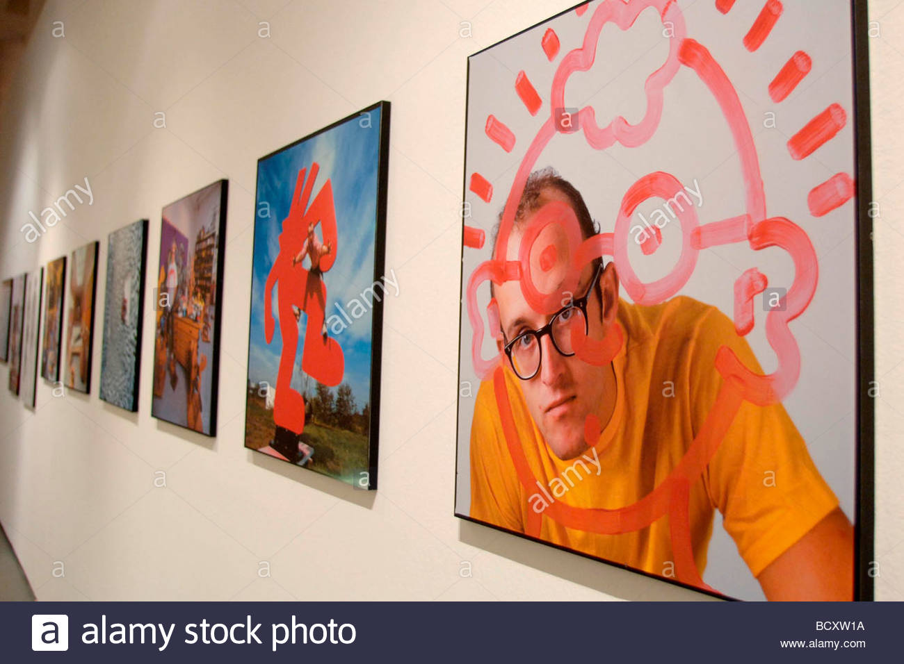 Keith haring stock photos keith haring stock images alamy keith haring art exhibition triennale di milano italy stock image reviewsmspy