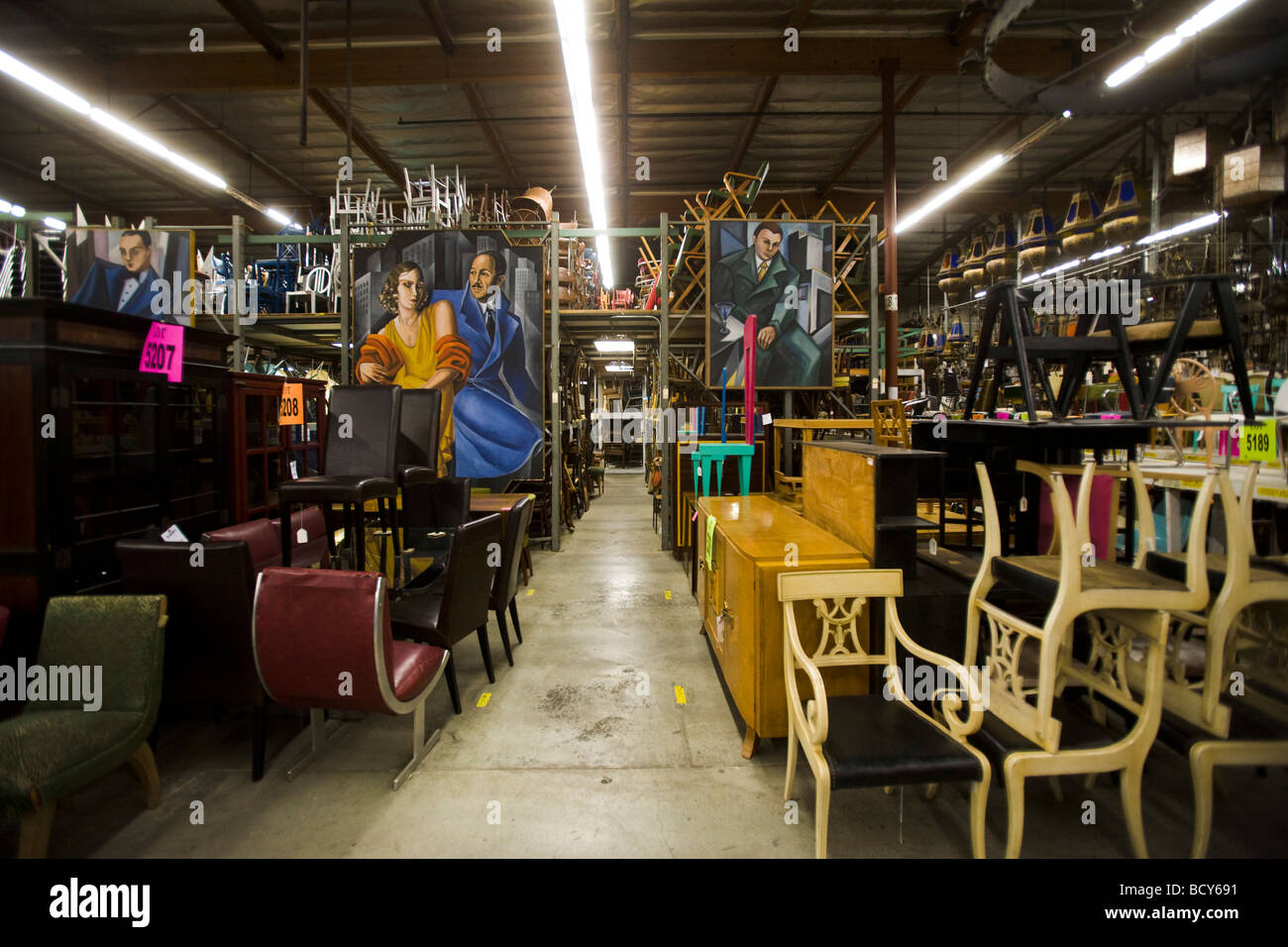 Excellent Stock Photo Furniture Th Century Props North Hollywood Los  Angeles California With Furniture Stores In North Hollywood