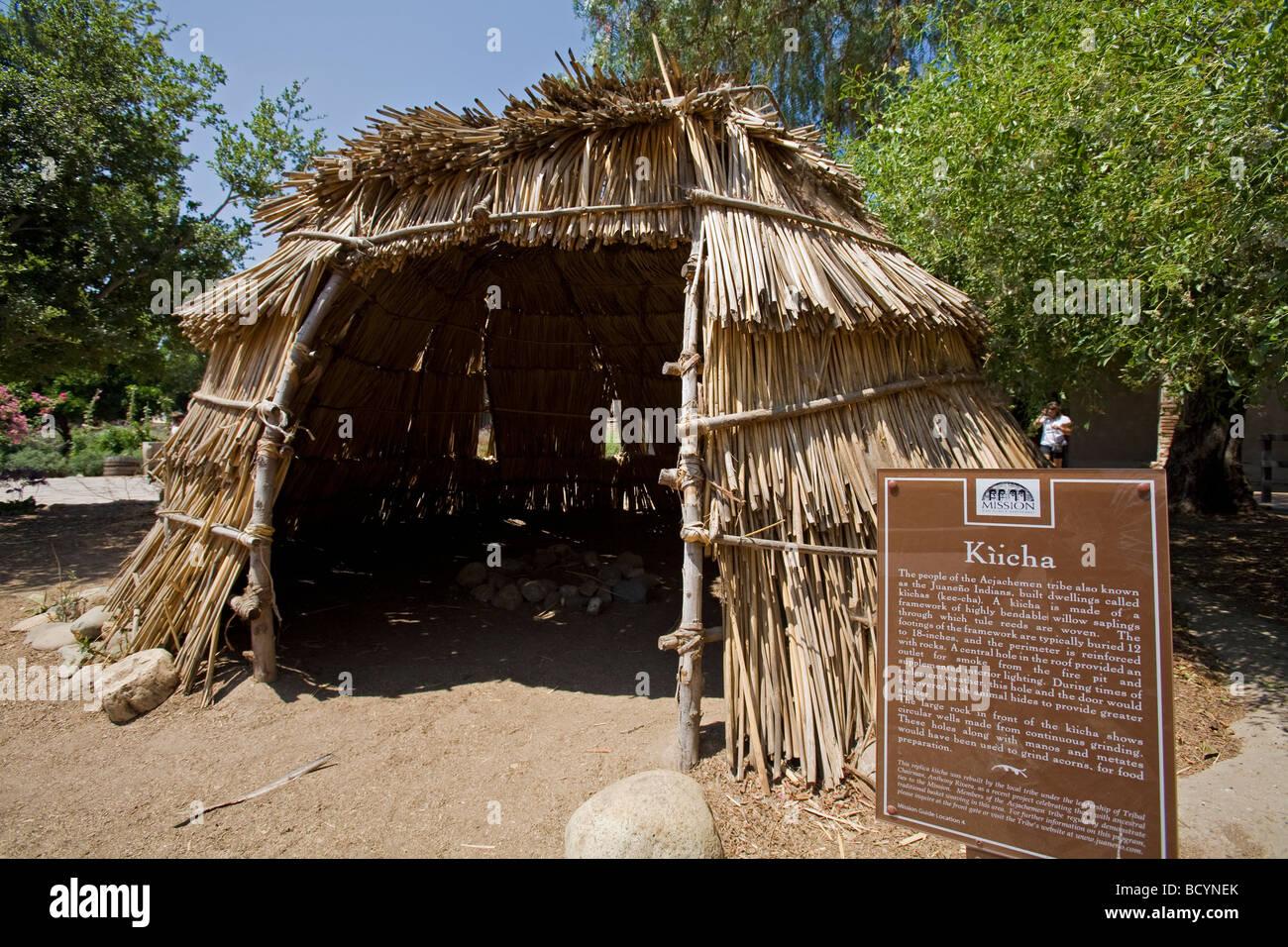 Kiicha - Native American Shelter, Mission San Juan Capistrano ...