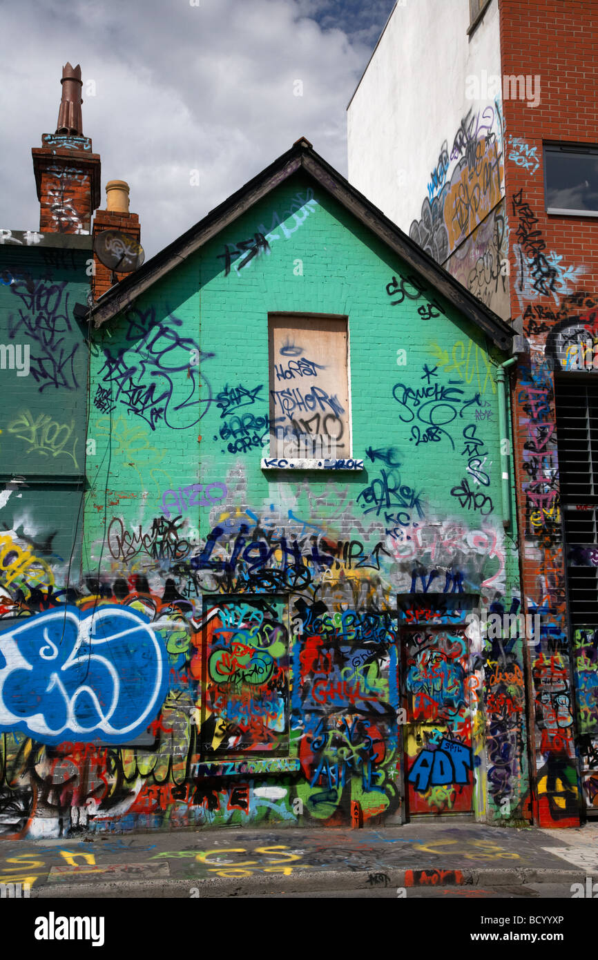 U2 graffiti wall location - The Famous U2 Wall Covered In Fan Grafitti At Windmill Lane Studios In Dublin Republic Of