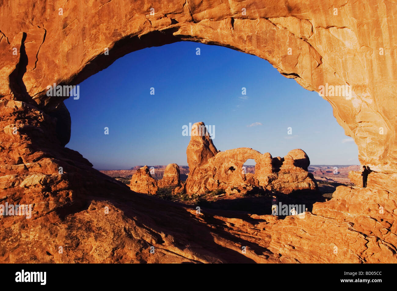 View of Turret Arch through North Window - Picture of Windows ...