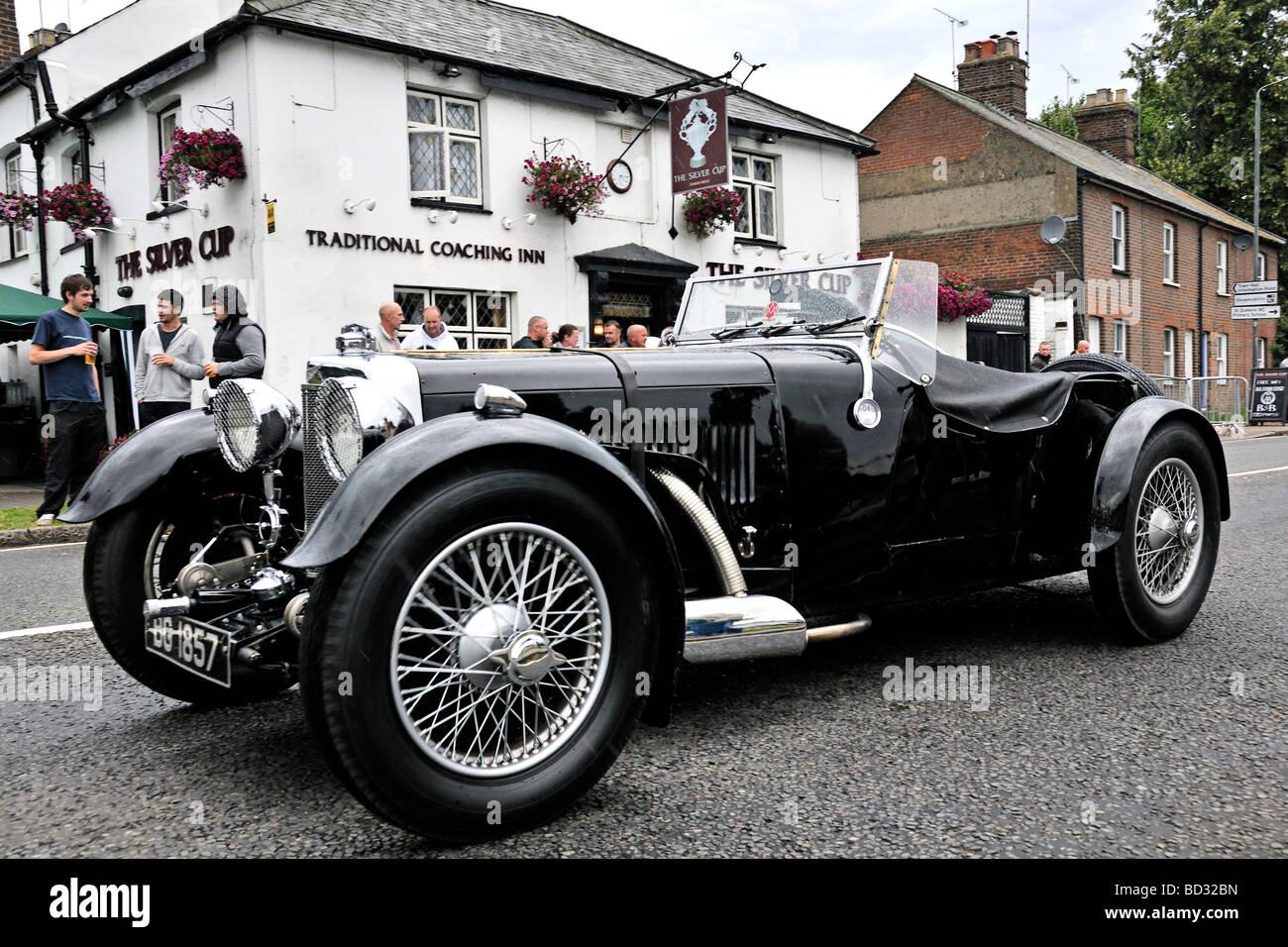 1933 aston martin le mans tourer stock photo royalty free image 25268649 alamy. Black Bedroom Furniture Sets. Home Design Ideas
