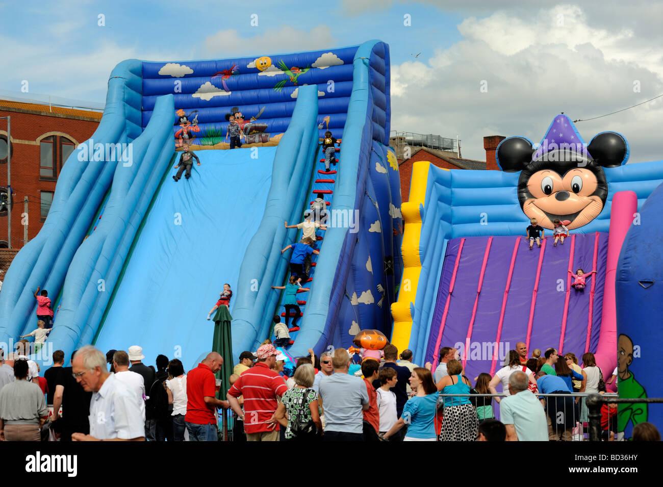 Inflatable Slide Hire Bristol