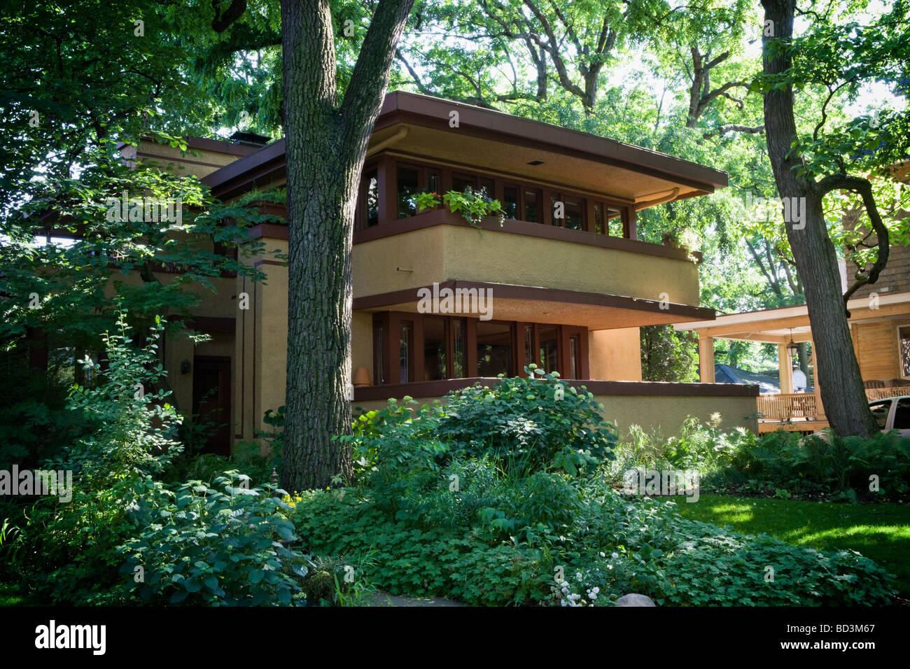 Mrs Thomas Gale House By Frank Lloyd Wright Prairie Style
