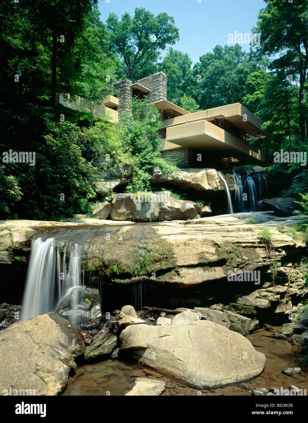 Fallingwater Frank Lloyd Wright Designed Home For The