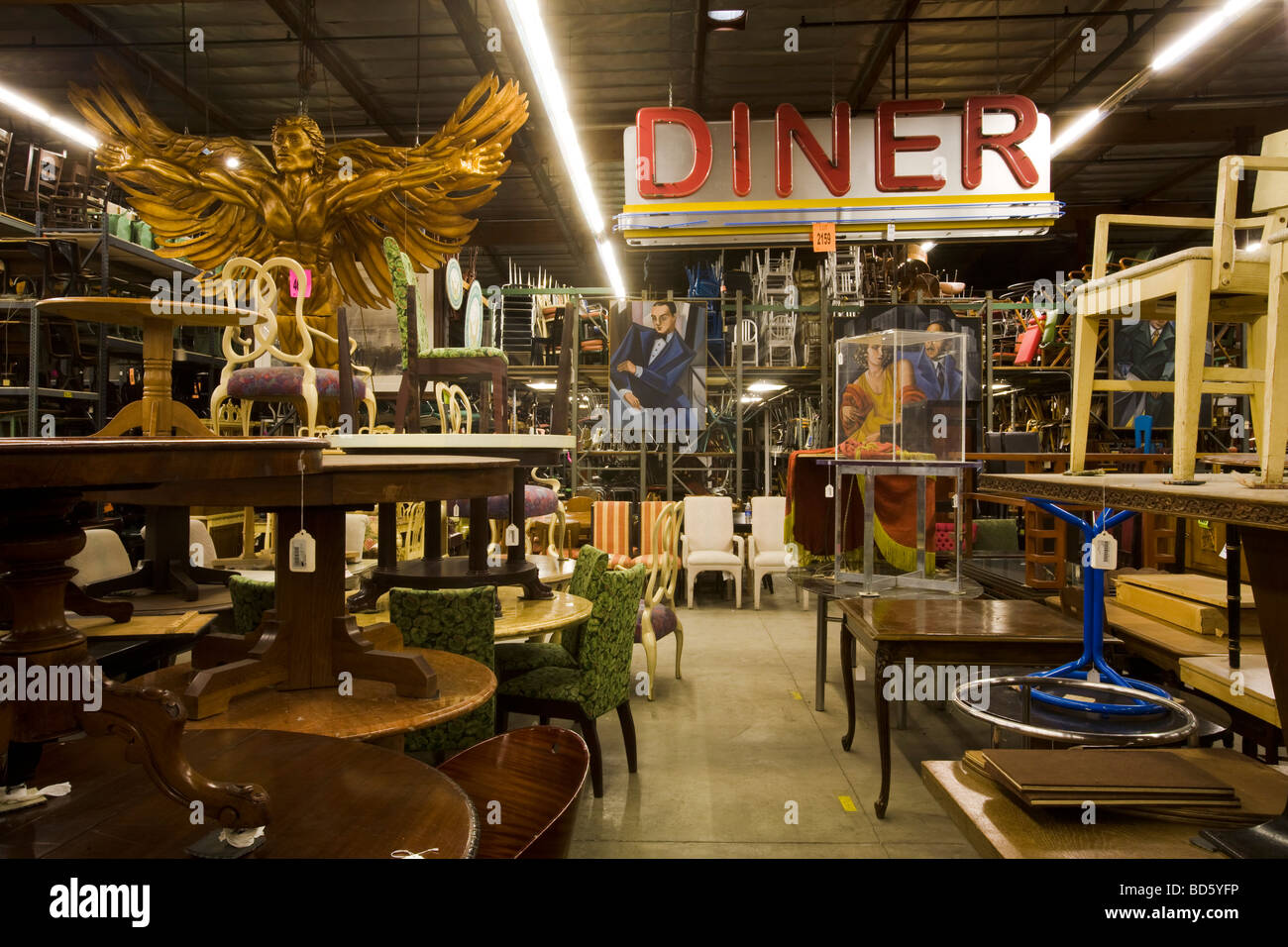 Awesome Th Century Props North Hollywood Los Angeles California Stock Photo  With Furniture Stores In North Hollywood