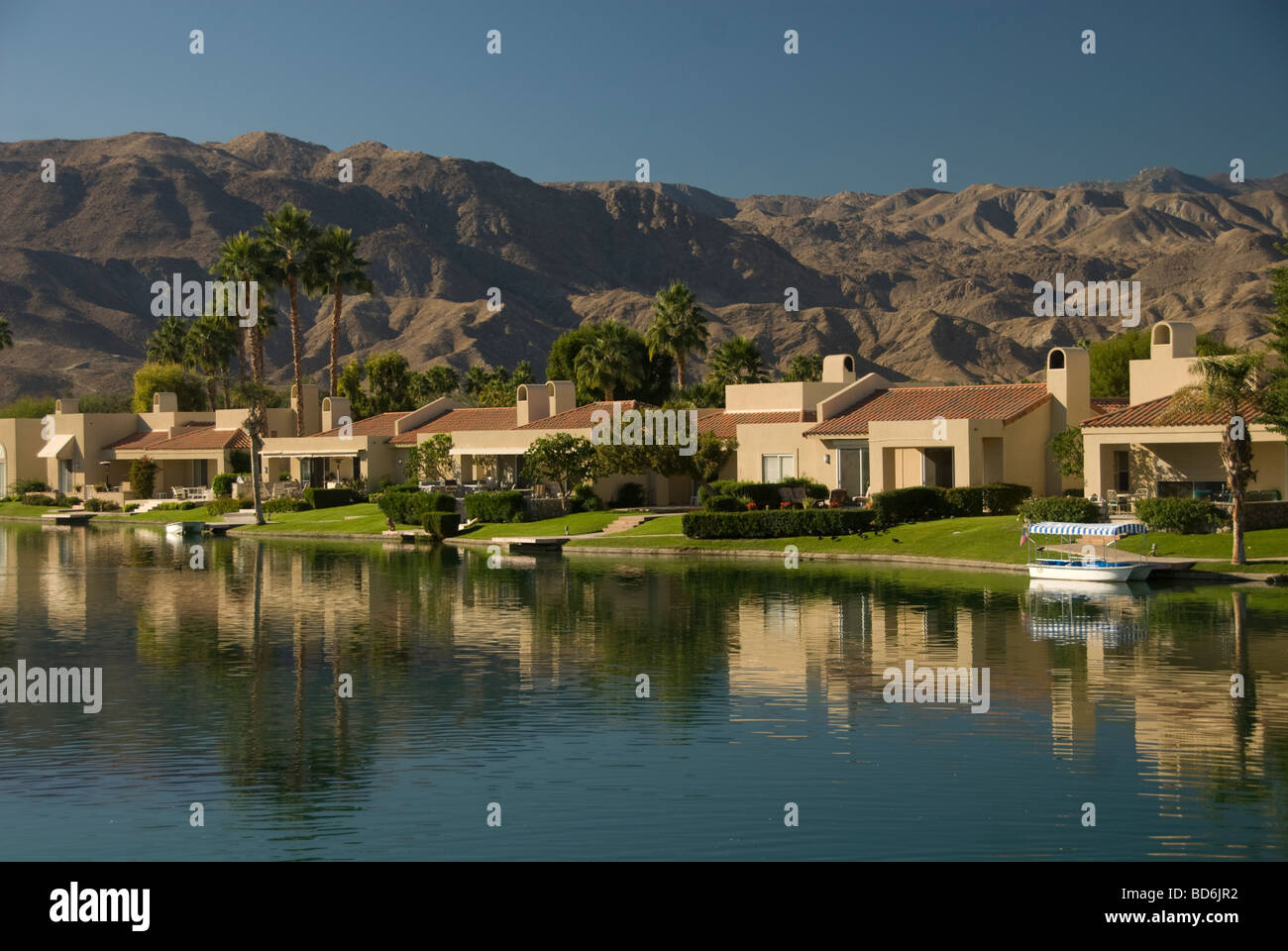 Lakeside Homes In Gated Community In La Quinta Indian