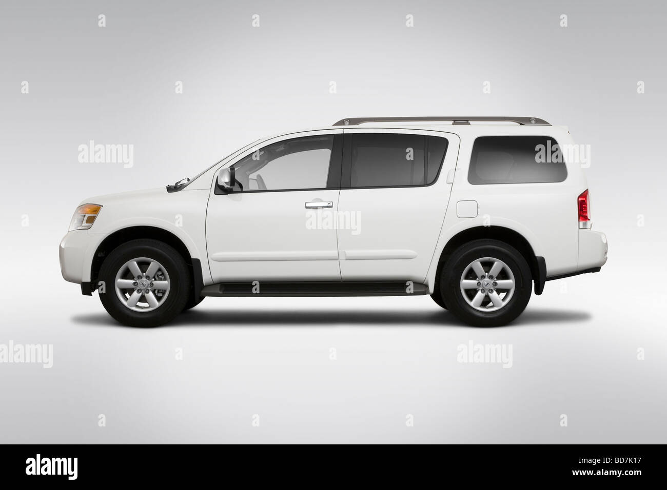 2010 nissan armada se in gray drivers side profile stock photo 2010 nissan armada se in gray drivers side profile vanachro Image collections
