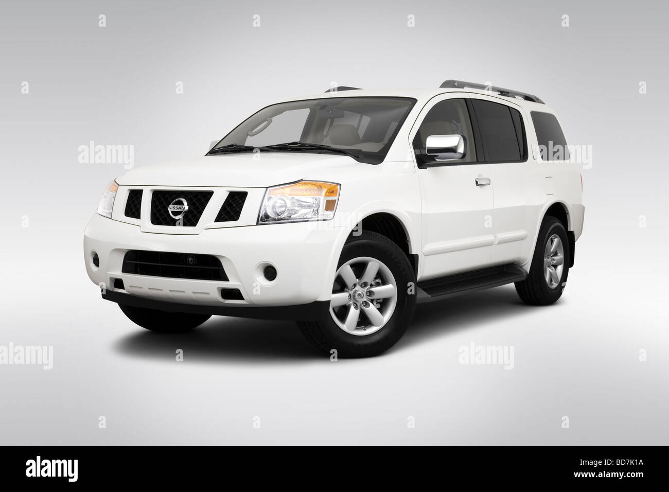 2010 nissan armada se in gray front angle view stock photo 2010 nissan armada se in gray front angle view vanachro Image collections