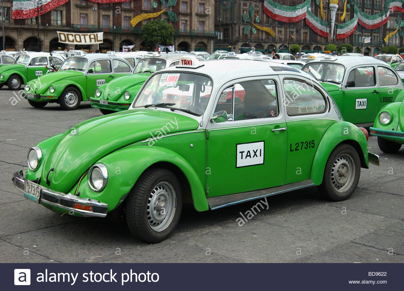 VW beetle Taxi in Mexico City,Mexico Stock Photo, Royalty ...