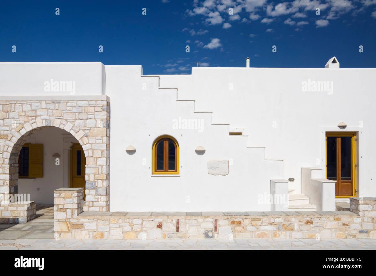 Modern Greek Island Cycladic House Design On The Island Of
