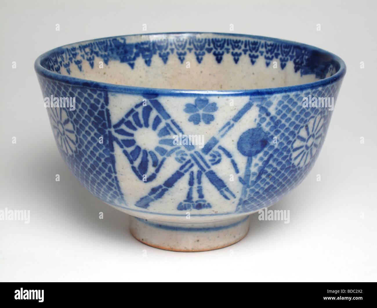 Antique japanese pottery tea bowl stock photo 25466618 alamy antique japanese pottery tea bowl reviewsmspy