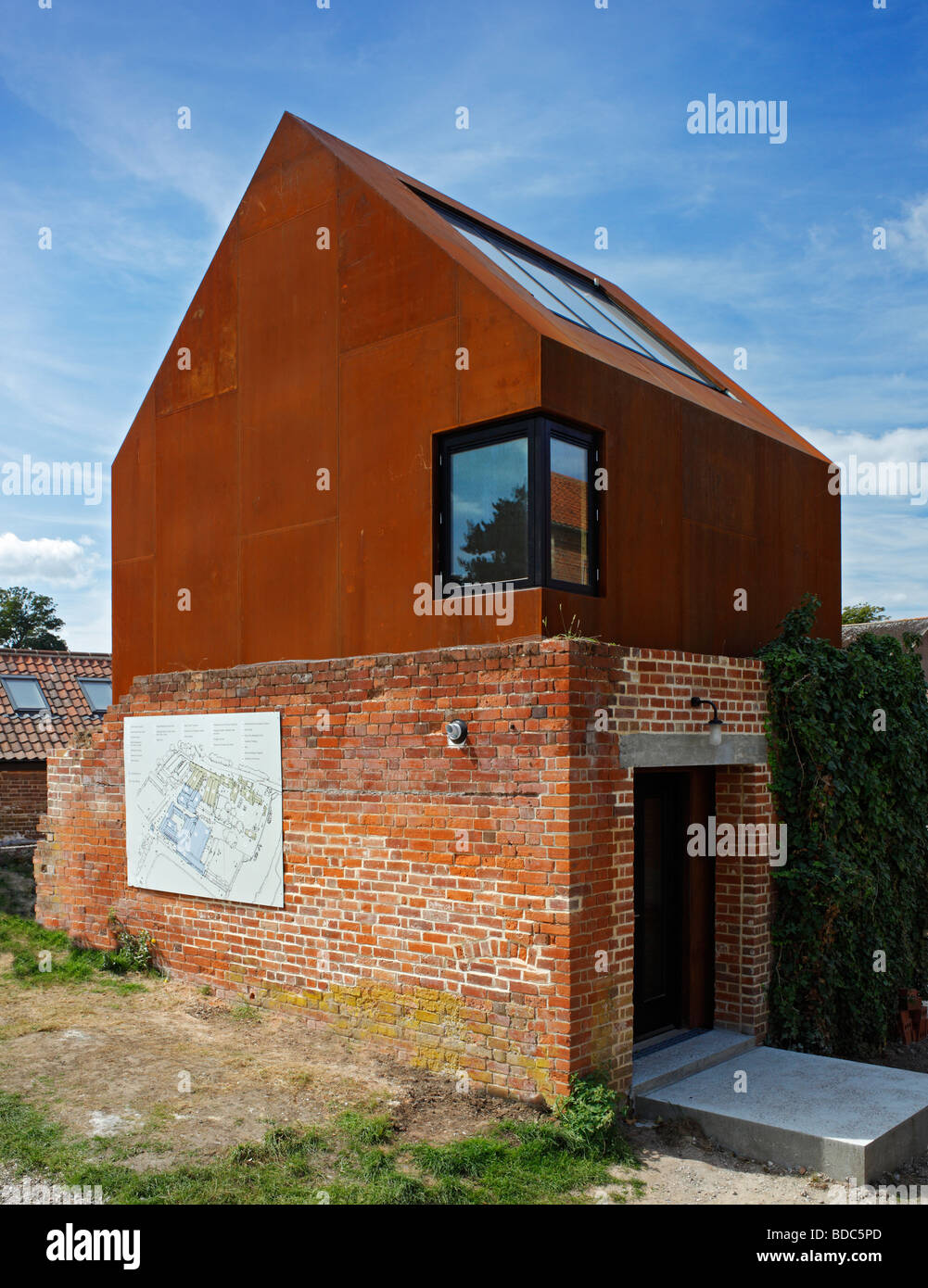 Snape maltings dovecote studio suffolk east anglia How to build a dovecote free plans