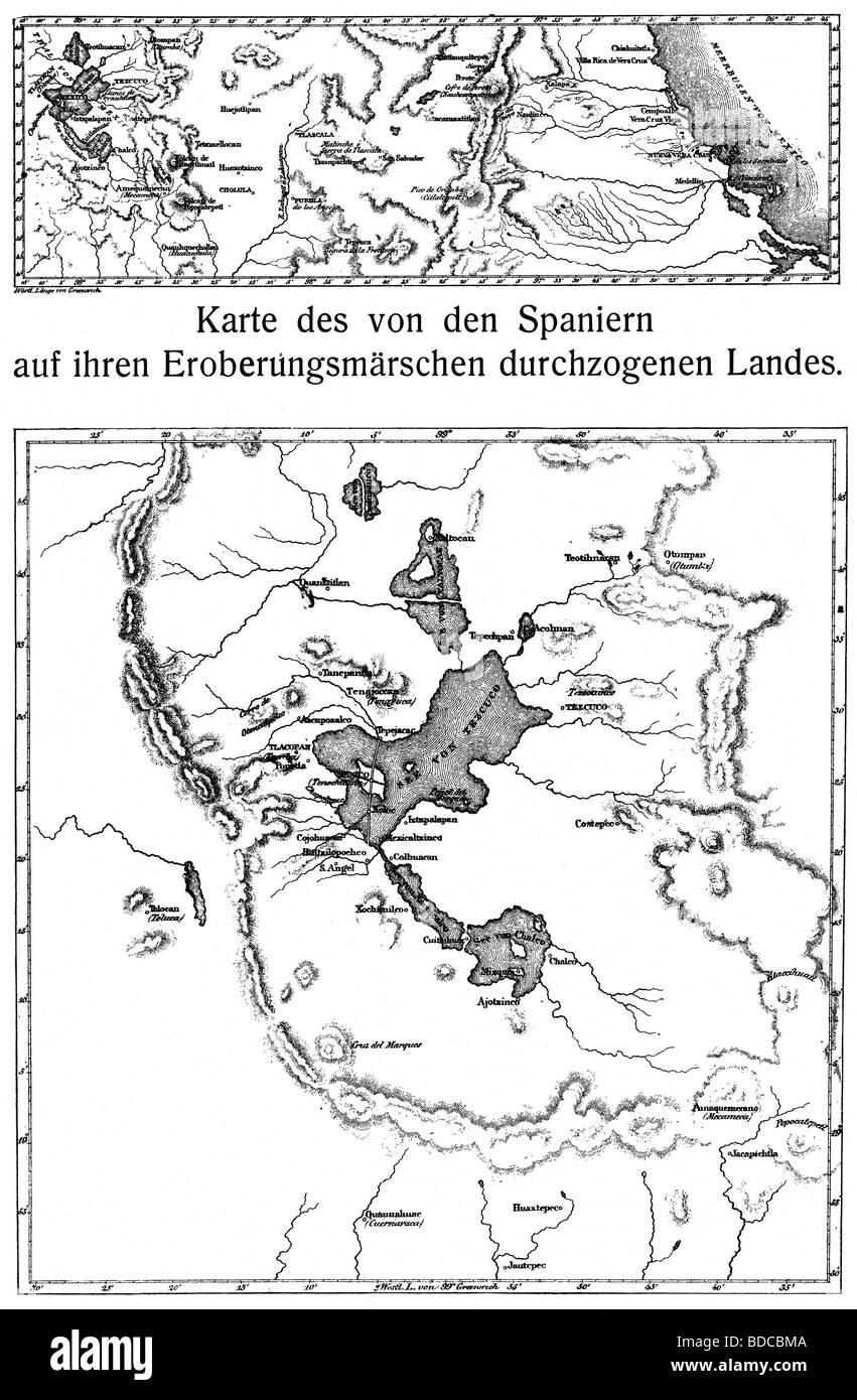 Cartography Historical Maps Mexico 19th Century Yucatan 1821 – Map of Mexico 1821