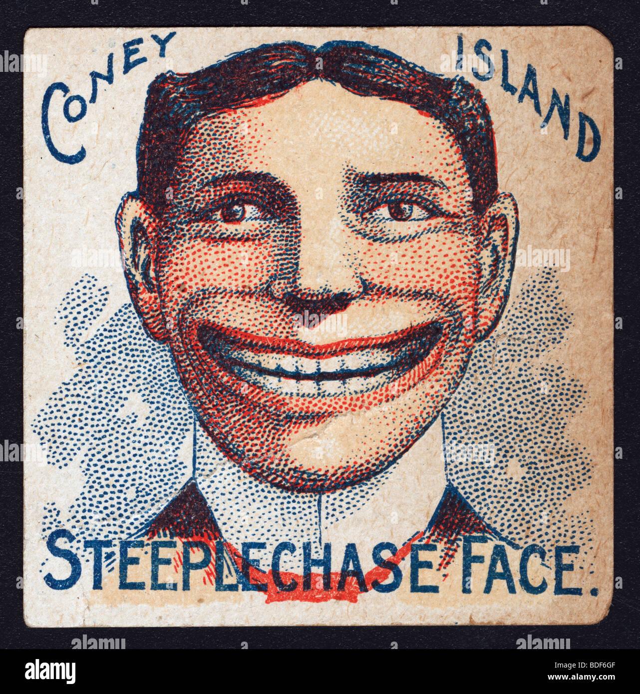 Coney Island Creepy Face