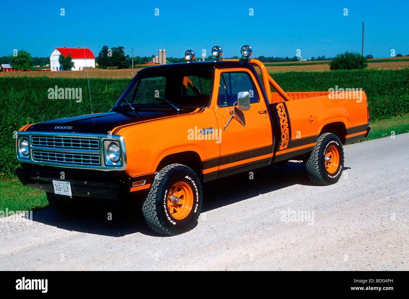 2018 Dodge Power Wagon >> 1979 Dodge Macho Power Wagon Stock Photo, Royalty Free Image: 25555897 - Alamy