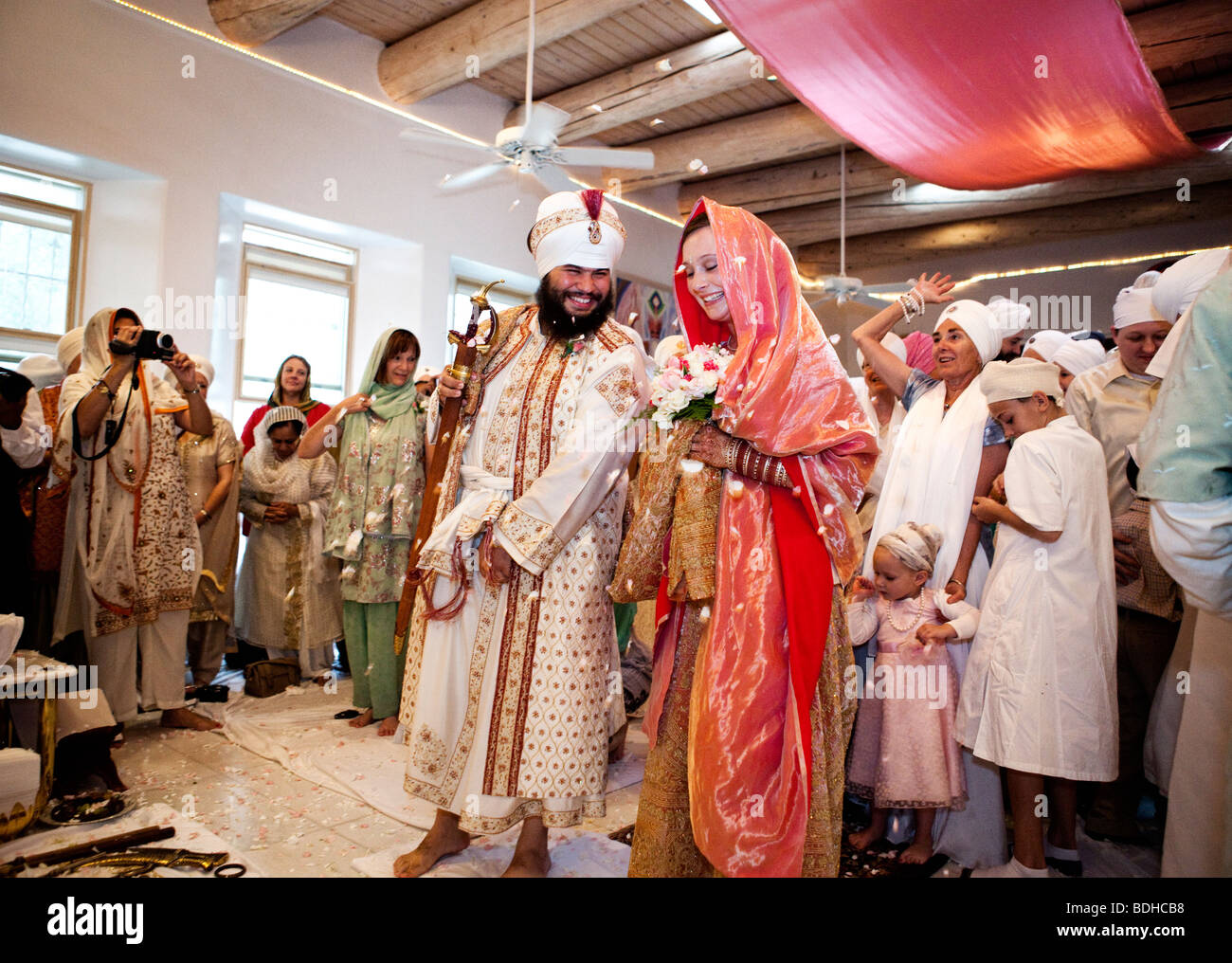 A Traditional Sikh Wedding Ceremony