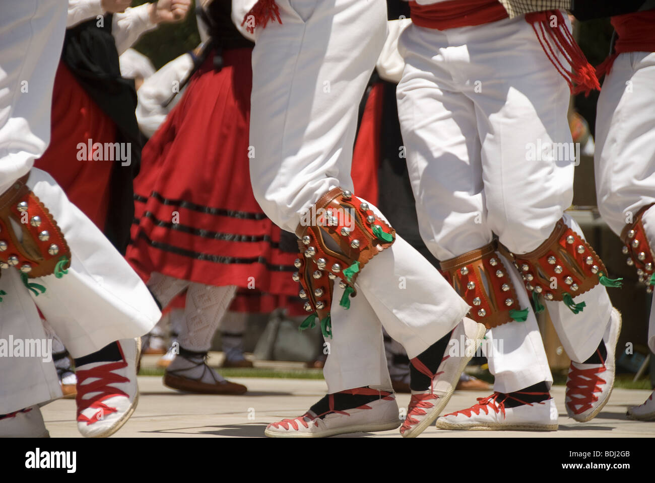 Basque dancers at Basque festival Winnemucca, Nevada Stock ...