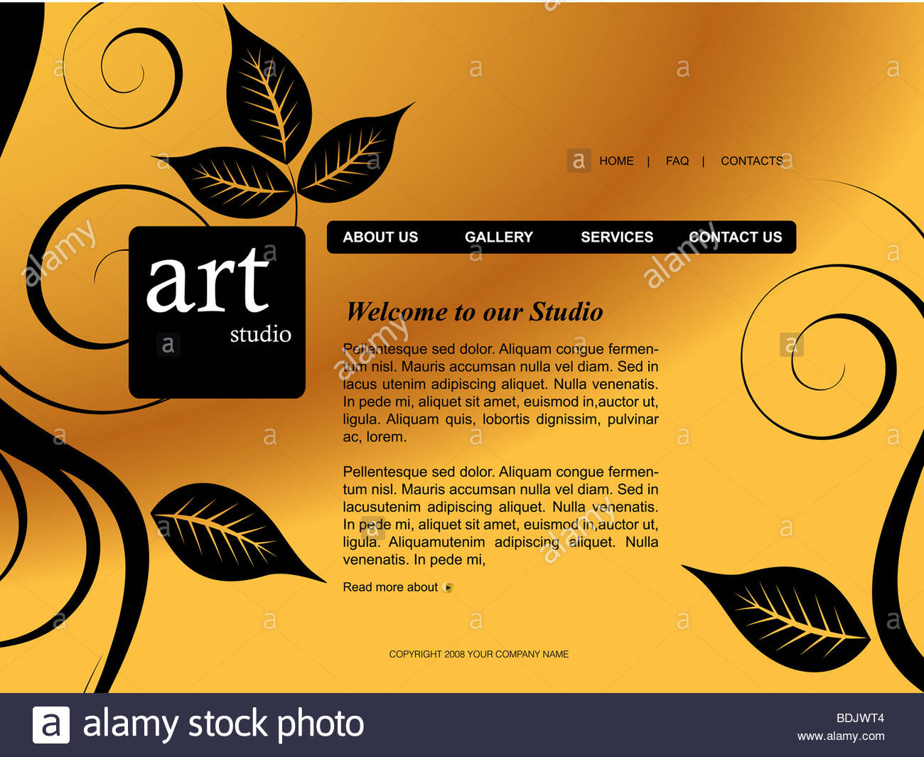 Website template easy to use in adobe flah or illustrator to stock photo website template easy to use in adobe flah or illustrator to export it as a website just edit or replace text and add your sub pronofoot35fo Gallery