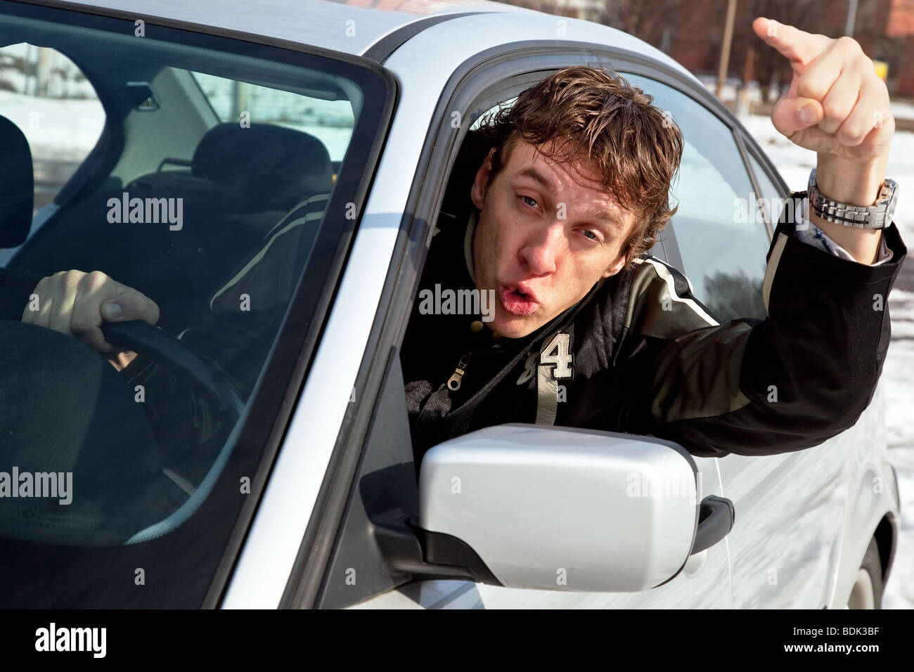 An Aggressive Driver Is A Person Who Drives