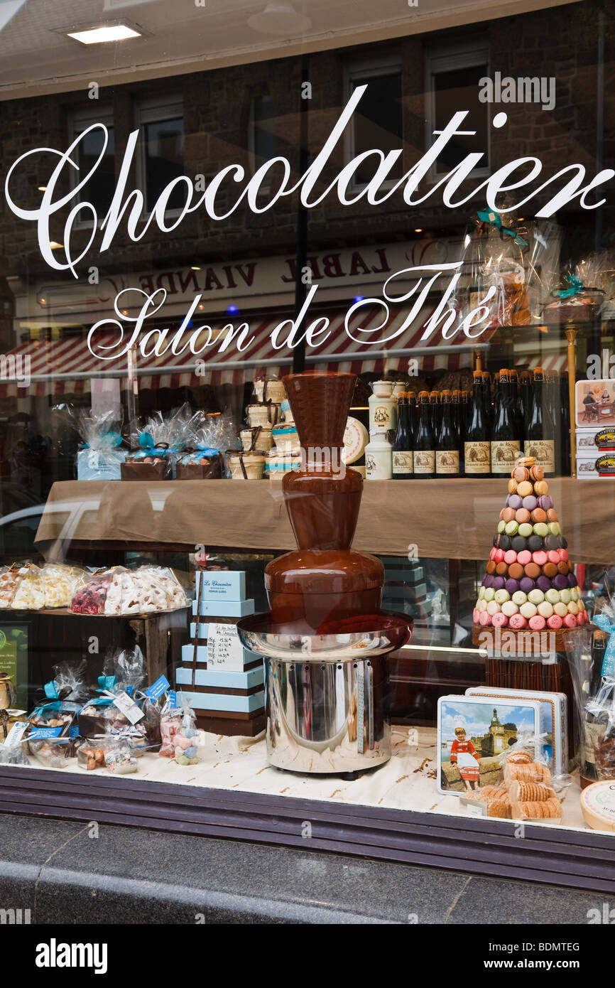 French Chocolate Shop Window Stock Photos & French Chocolate Shop ...