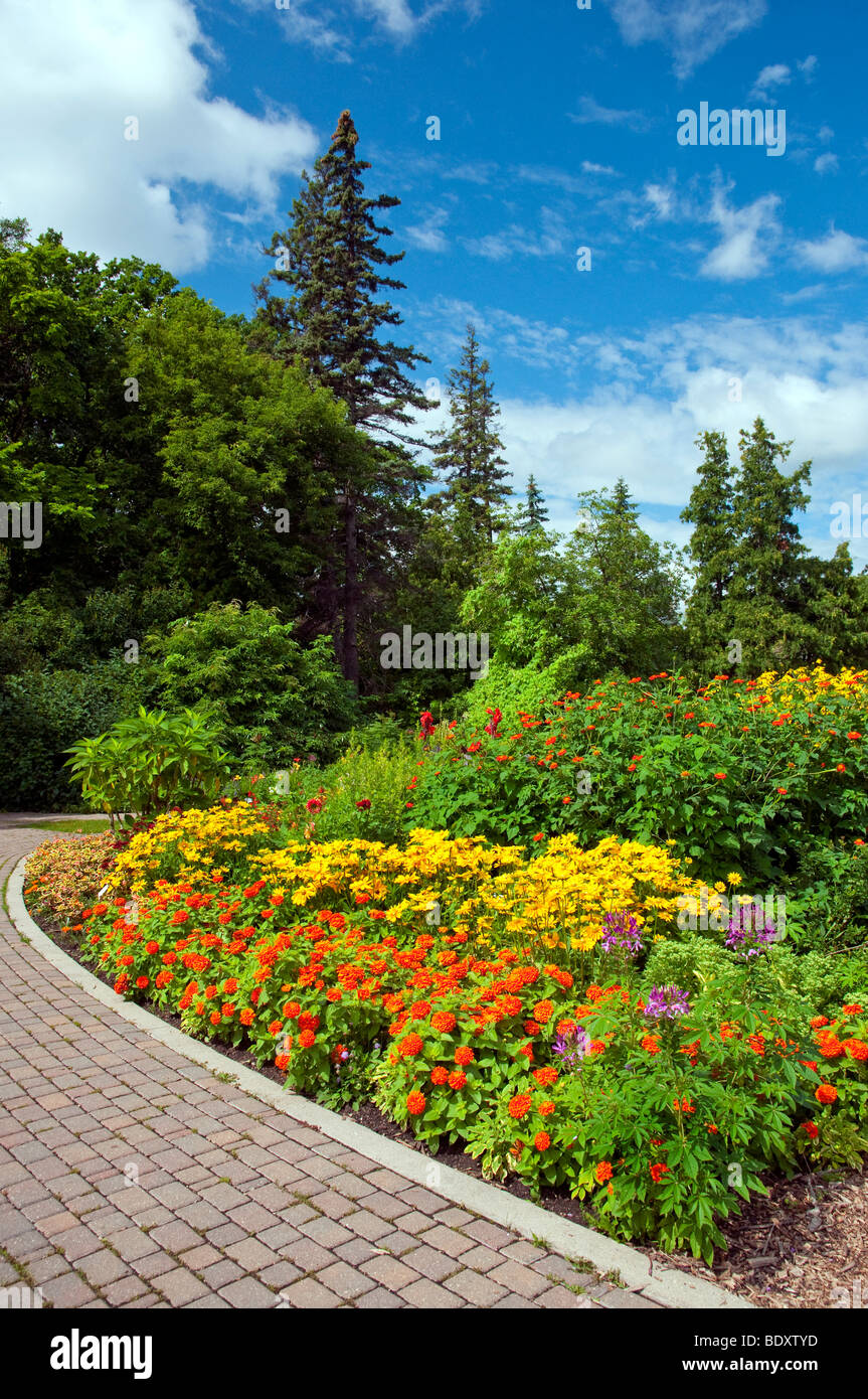 Flower Beds Garden Paths And