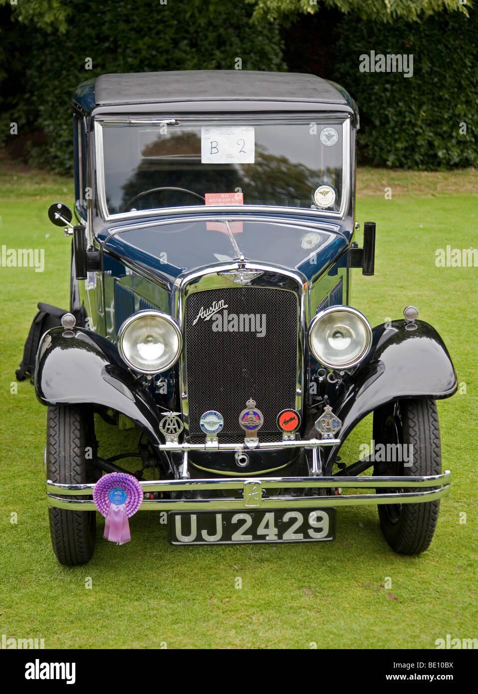 Austin Vintage Classic Car At The Wilton Park Classic Car Show