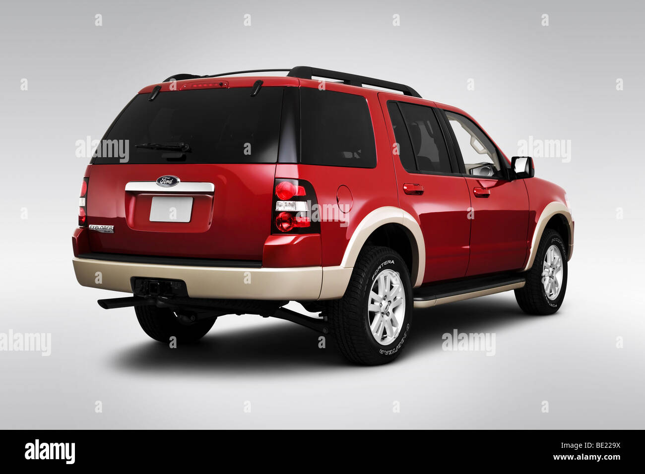 Ford Explorer Eddie Bauer Suv Stock Photo Royalty Free