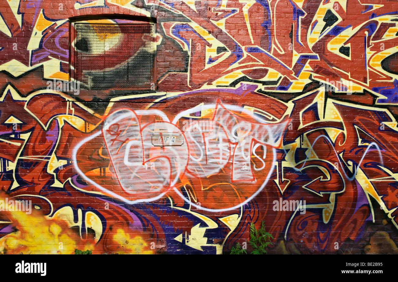 Graffiti wall toronto downtown - Graffiti Wall In Toronto
