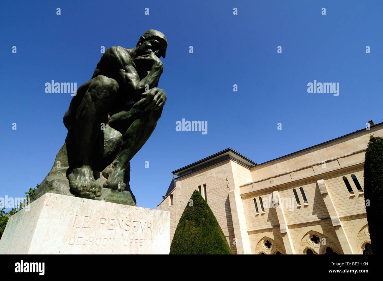 """Très Le Penseur ('the thinker"""") is Auguste Rodin's masterwork sculpture  SA53"""