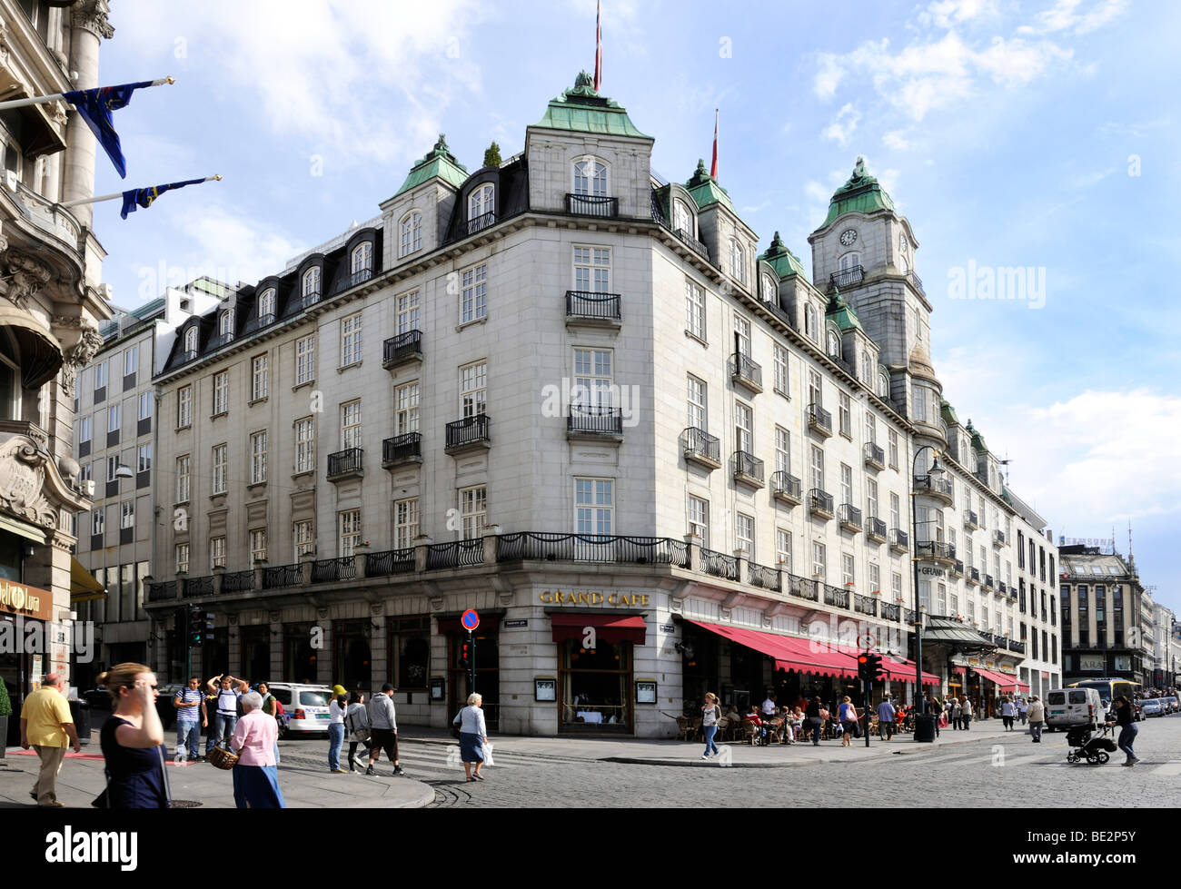 grand hotel and grand cafe at the karl johans gate oslo. Black Bedroom Furniture Sets. Home Design Ideas