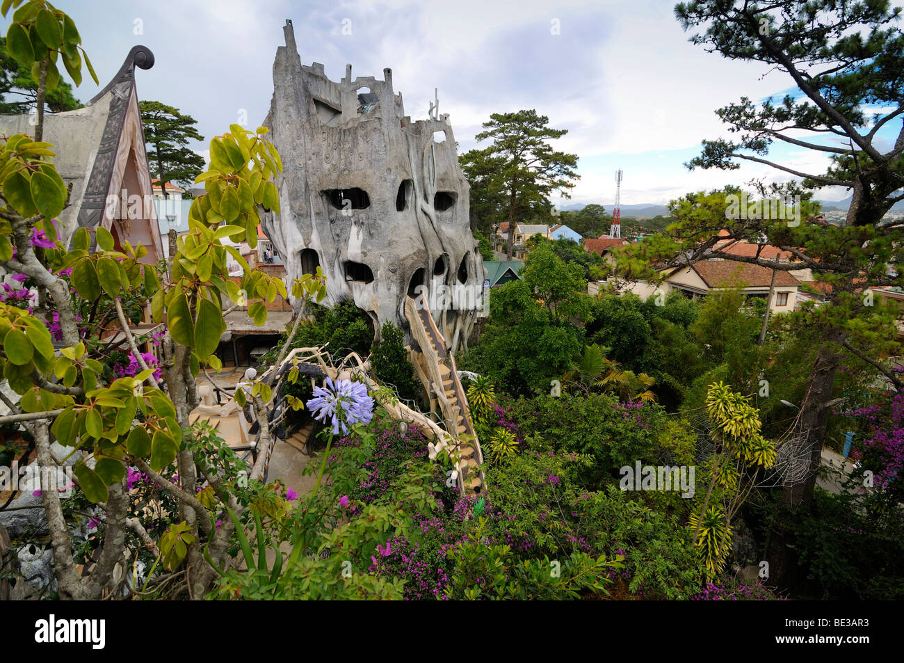Crazy House Hotel, Hang Nga Guesthouse, Dalat, Central Highlands ...