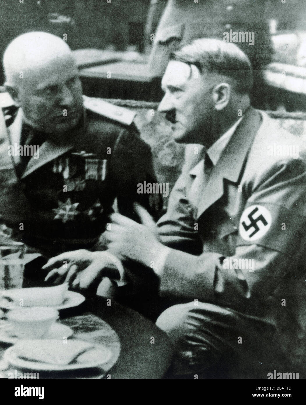 a comparison of adolf hitler and benito mussolinis lives Professor benito mussolini,  38, revolutionary socialist,  furthermore, the conquest of ethiopia cost the lives of 12,000 italians and another 4,000 to 5,000 libyans, eritreans,  the relationship between mussolini and adolf hitler was a contentious one early on.