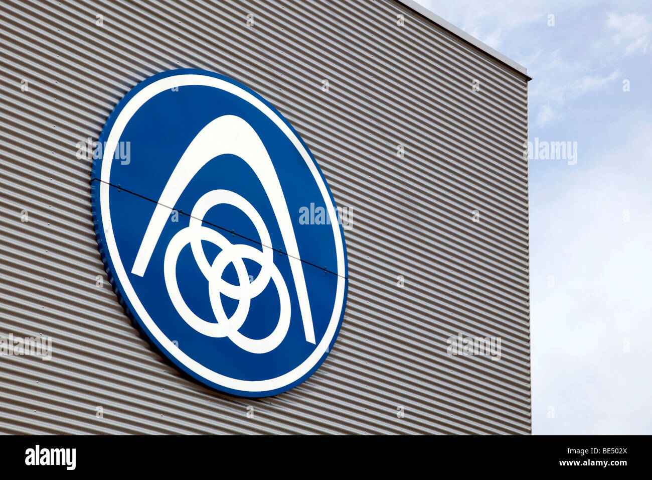 logo of the thyssenkrupp stahl ag company in regensburg. Black Bedroom Furniture Sets. Home Design Ideas