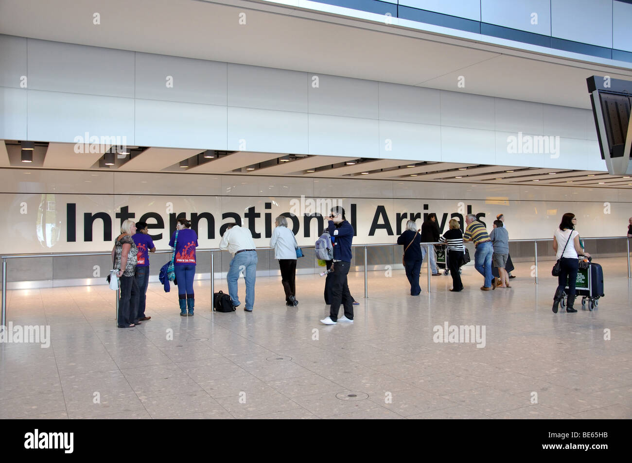 London Airports Arrivals Gallery