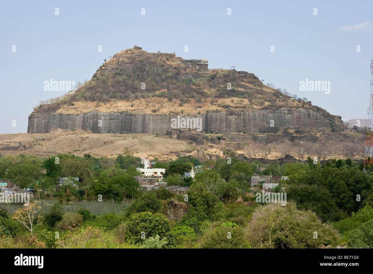 Daulatabad India  City new picture : Devagiri Fort In Daulatabad Near Aurangabad India Stock Photo, Royalty ...