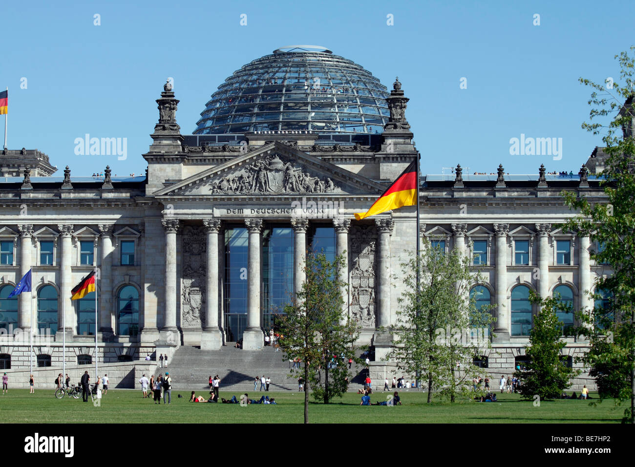 berlin the reichstag building eu de deu ger germany capital stock photo royalty free image. Black Bedroom Furniture Sets. Home Design Ideas