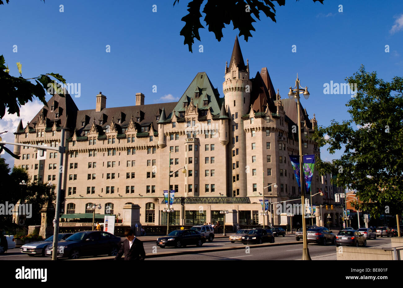 famous fairmont chateau laurier hotel in downtown ottawa. Black Bedroom Furniture Sets. Home Design Ideas