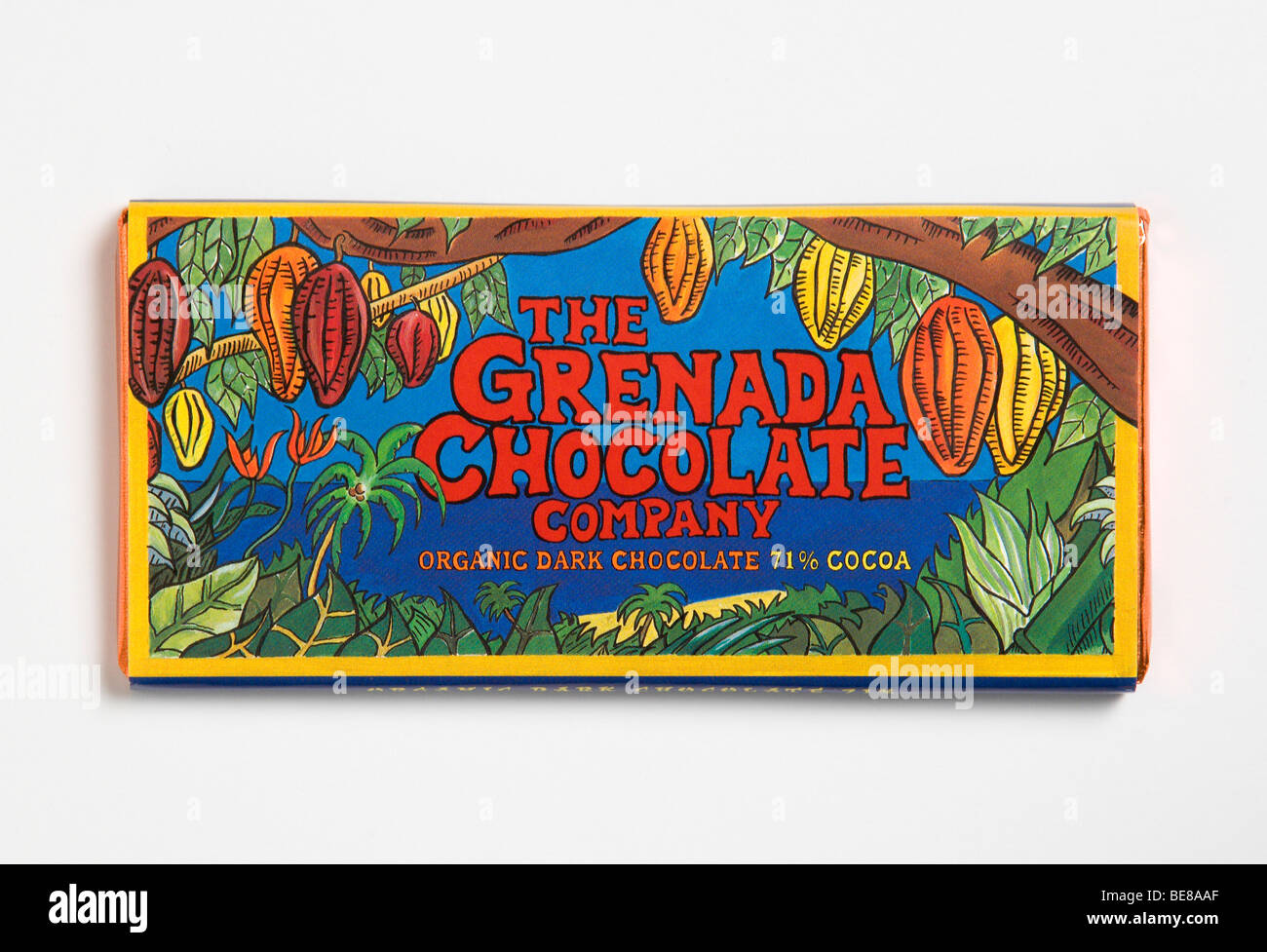 WEST INDIES Caribbean Grenada St Patrick Organic chocolate bar ...