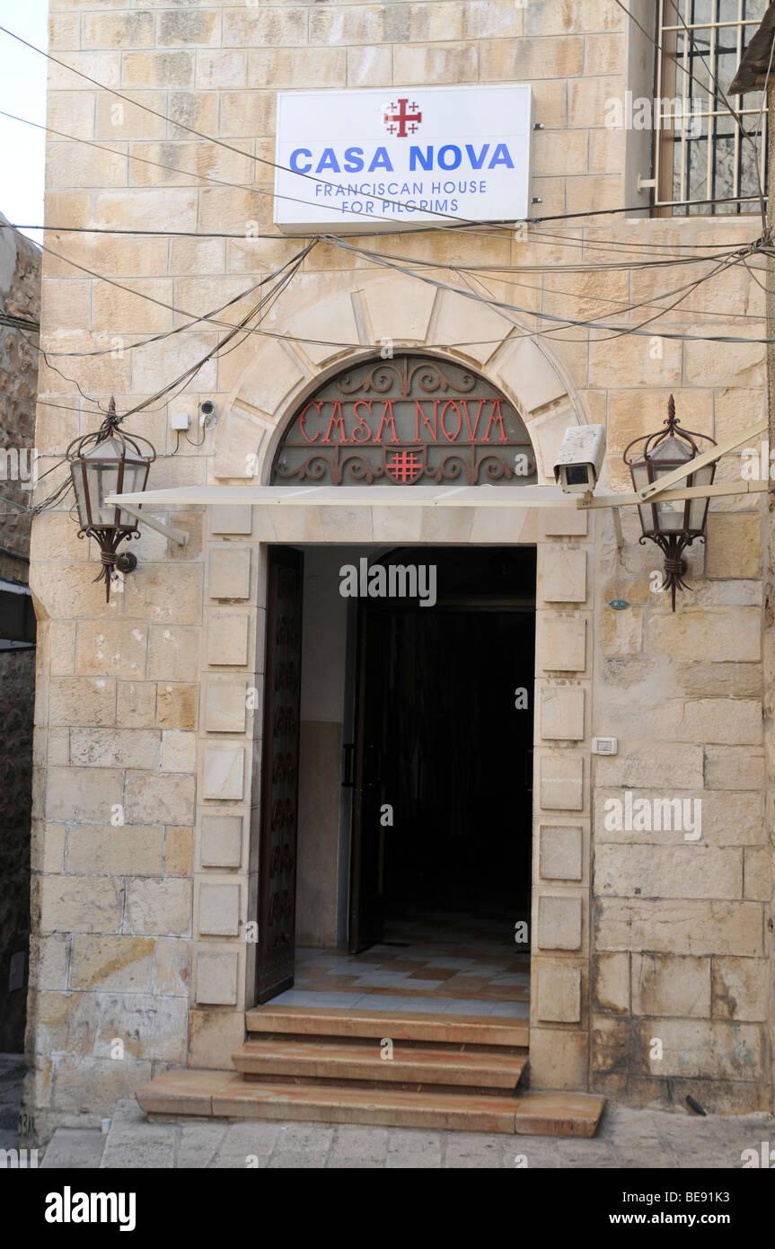 Israel Jerusalem Casa Nova Franciscan House For