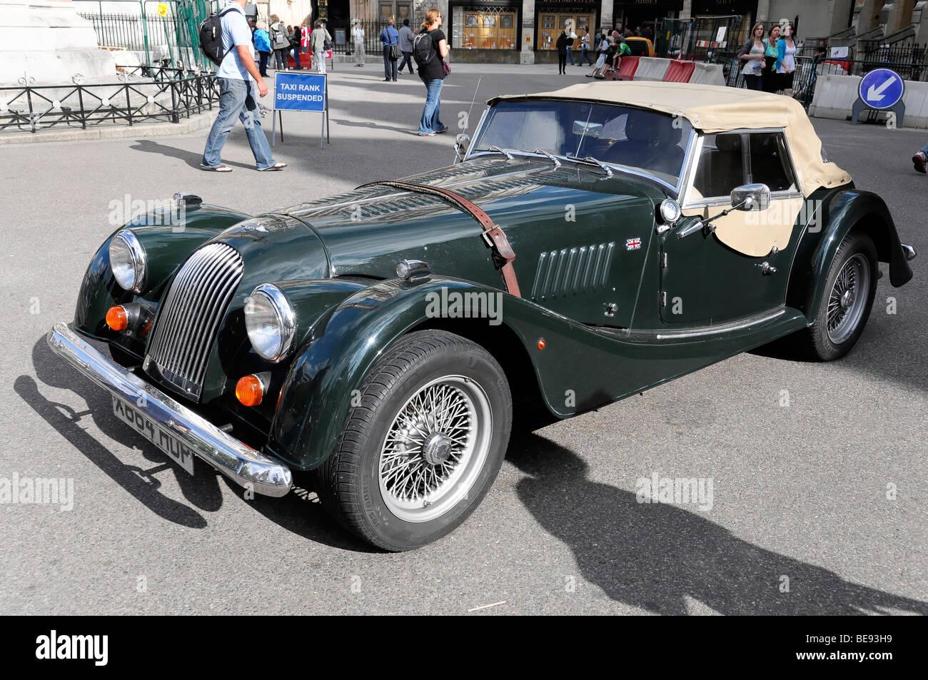 Morgan 4 Vintage Car London England United Kingdom Europe