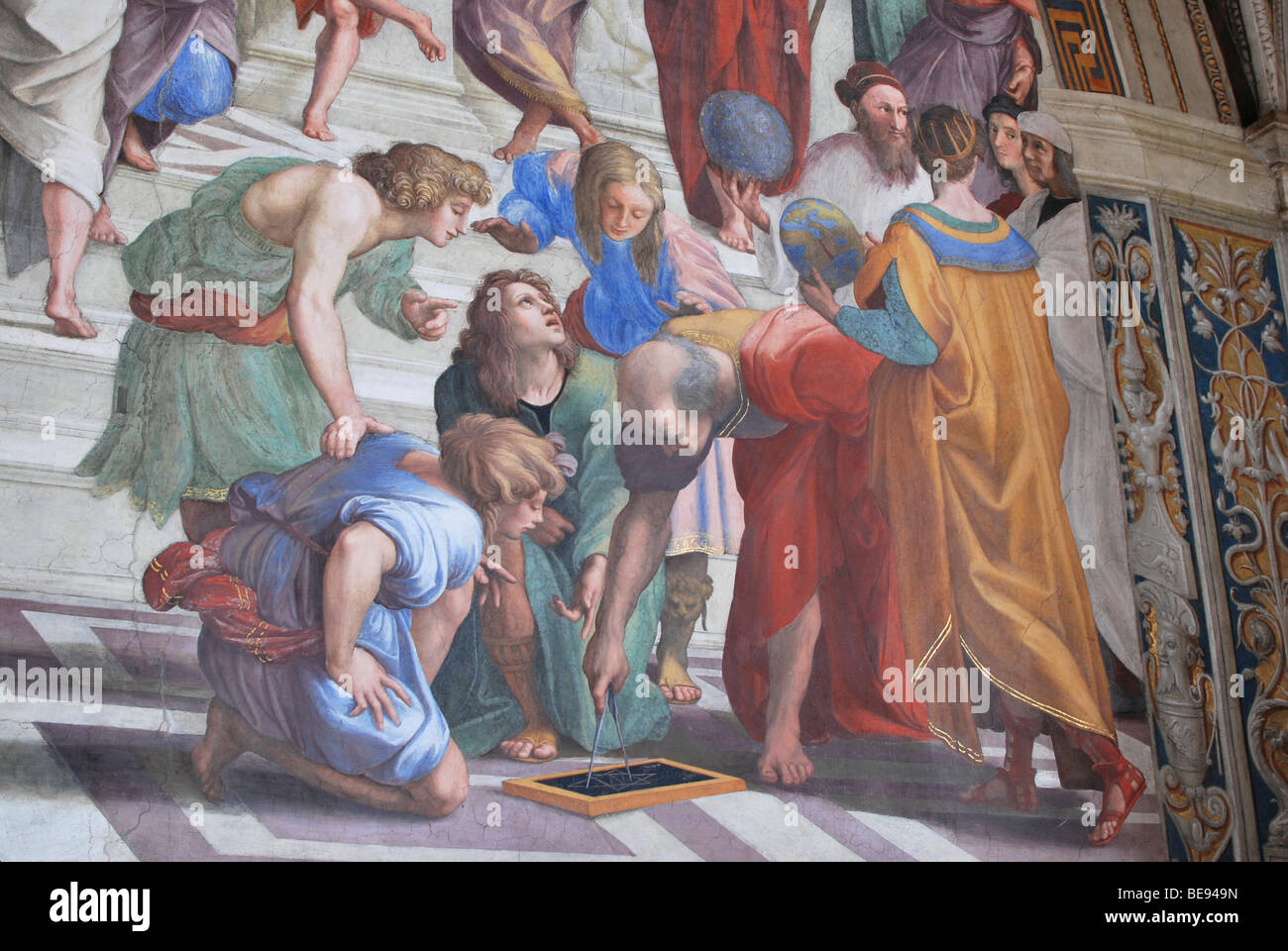 an analysis of the painting of the stanza della segnatura by raphael Freedberg, sydney, raphael's frescoes in the stanza della segnatura hersey, george, the stanze, chapter 5 in high renaissance art in st peter's and the vatican chicago, 1993.