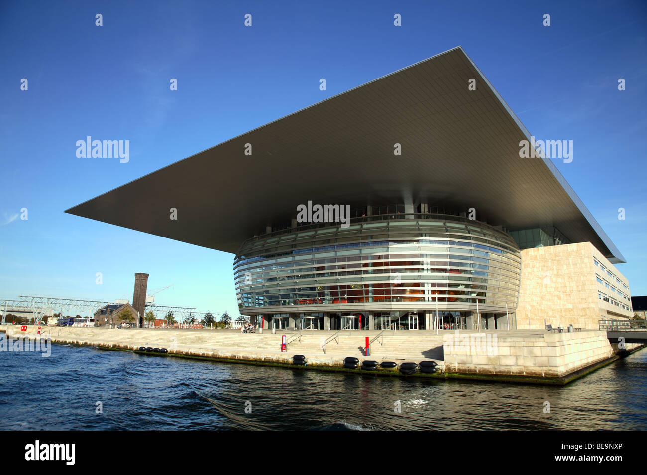 The New Copenhagen Opera House On The Waterfront In The Port Of Stock Photo Royalty Free Image