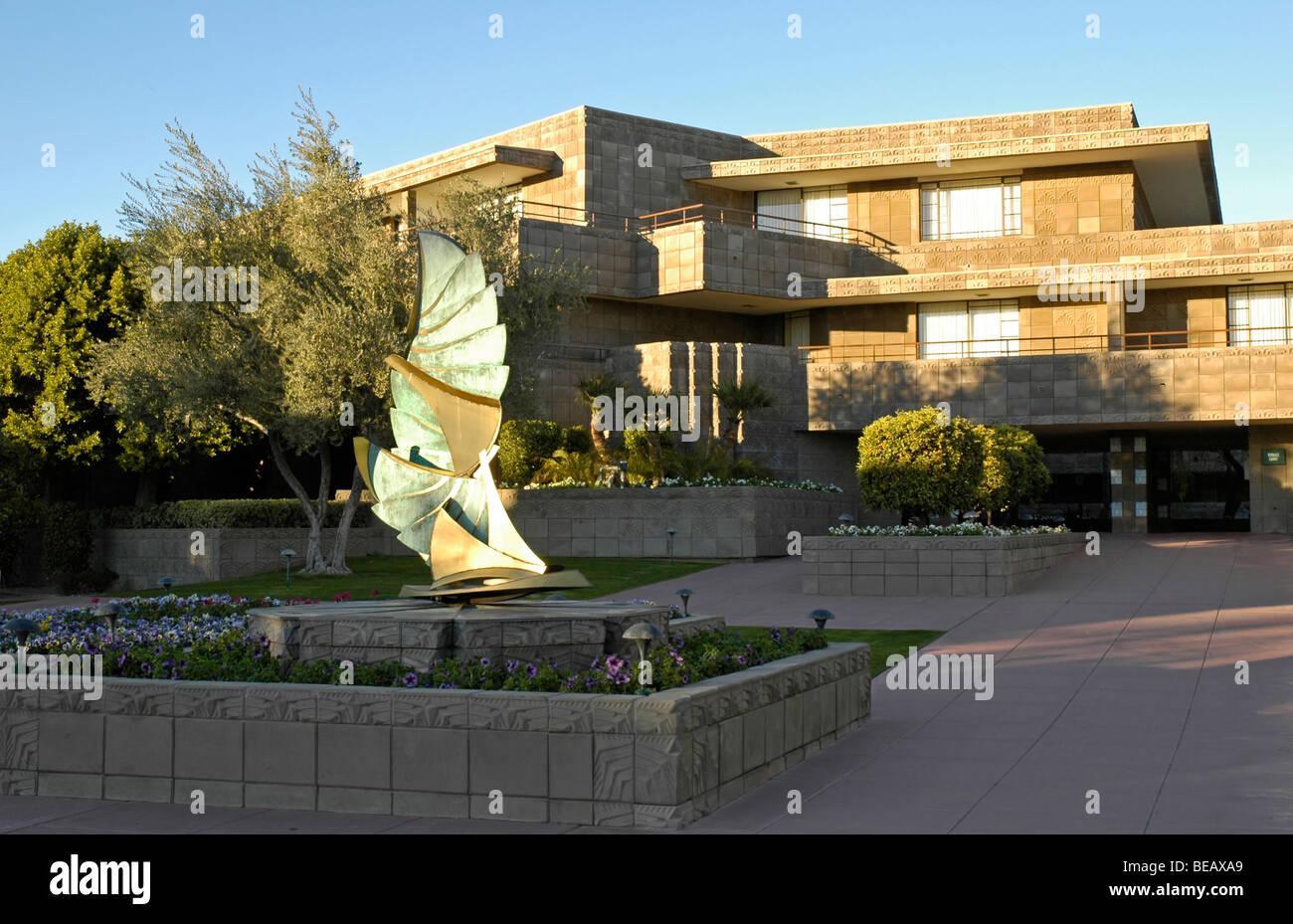 the biltmore resort & hotel, phoenix, arizona, usa stock photo