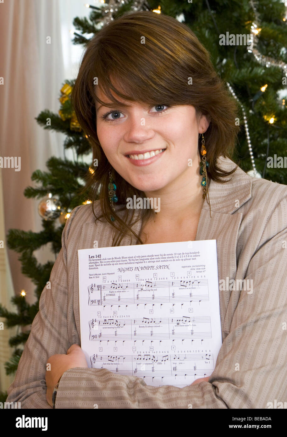 Christmas Songs White Young Woman