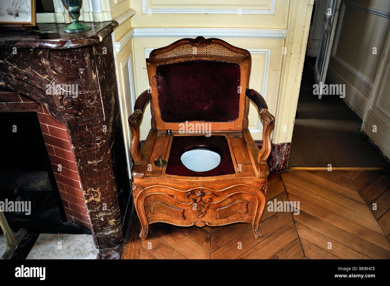 Paris, France - Antique Furniture inside French Monuments,